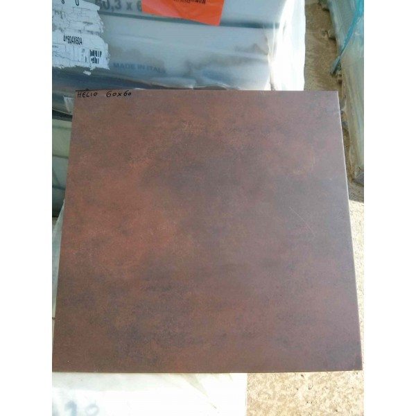 "Carrelage mate 60x60 ""Oxido marron"""