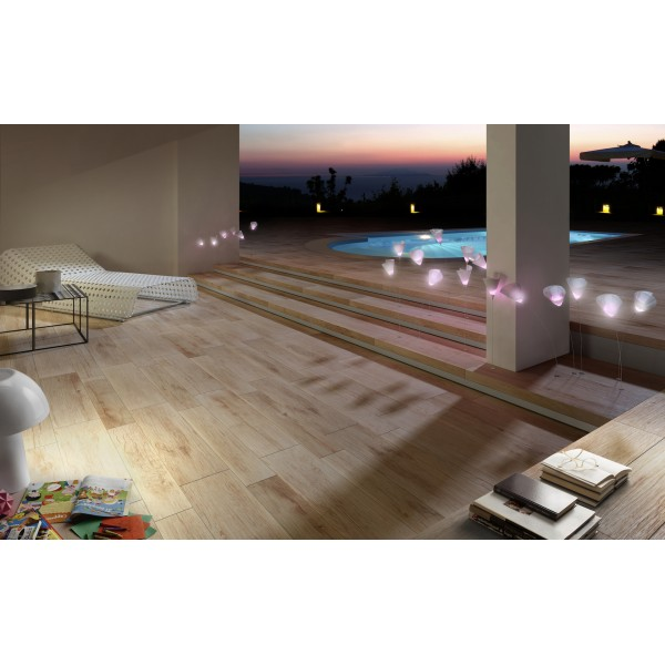 "Sant Agostino Blendart As 20 Mix 40 X 120cm: CARRELAGE EXTERIEUR EFFET PARQUET ""BLENDART 40x120 20mm"""